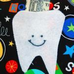 Spaceship Tooth Fairy Pillow for Bo..